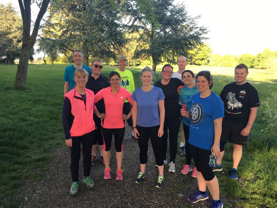 Broseley Joggers club run