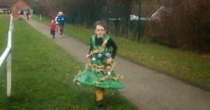 Christmas fun run