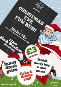 Christmas Eve Fun Run Poster